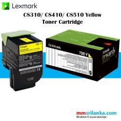 Lexmark 708 Yellow Toner Cartridge for CS310/CS410/CS510